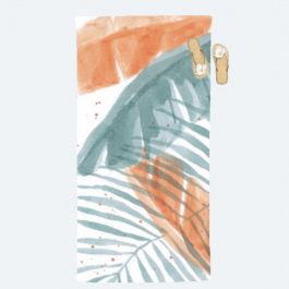 Palm Party Collection Beach Towel