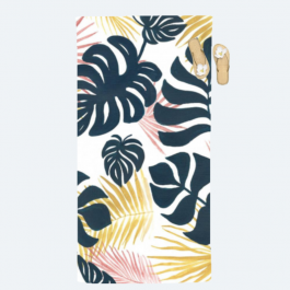Sultry Foliage Collection Beach Towel