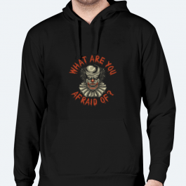 What are you afraid of? BaeLolly Men's Hoodie