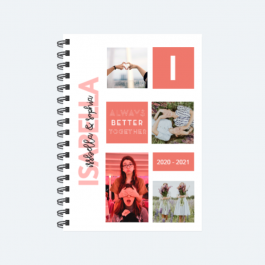 Personalized Photo Gift_Best Friend BaeLolly Ruled Notepad
