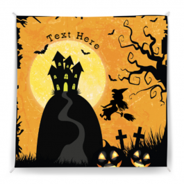 Halloween Polly Striped Wall Tapestry
