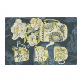 Aromatic Tea Dynasty Satin Placemats