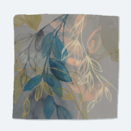 Leaves and Colors Intricate Dobby Sally Scarf