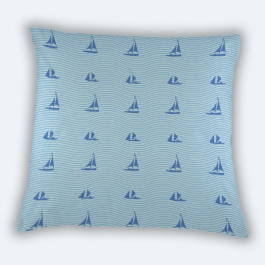 At the sea Square Canvas Throw Pillow Without Insert