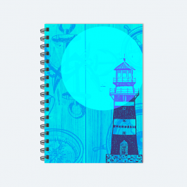 Nautical Print BaeLolly Ruled Notepad