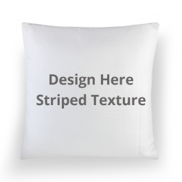 Square Textured Throw Pillow Without Insert