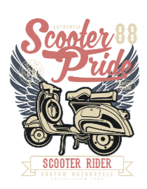 Scooter Pride2 BaeLolly Men's Raglan T-shirt