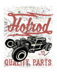 Smokin Hotrod BaeLolly Men's Round Neck Long Sleeve T-Shirt